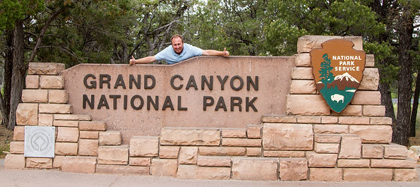 Simone Amaduzzi at the Grand Canyon National Park