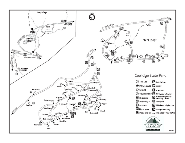 Coolidge-State-Park-Map