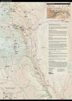 Capitol Reef National Park Map