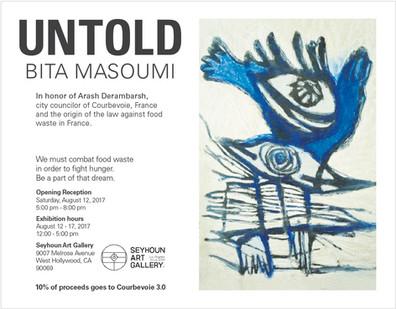UNTOLD Painting Solo Exhibition, Seyhoun Art Gallery