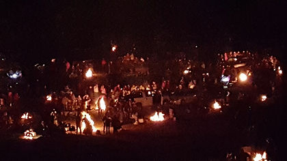 Bonfires in the Omaha/Council Bluffs Area