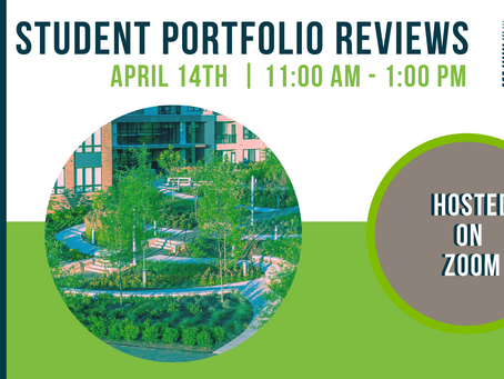 MDASLA Hosts Student Portfolio Reviews