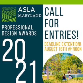 2021 Call For Entry: MDASLA Design Awards