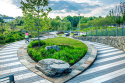 Shelley Rentsch - 1 Germantown Park bold graphic paving for urban edge