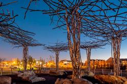 Shelley Rentsch - 8  Germantown Park sculpture by David Hess