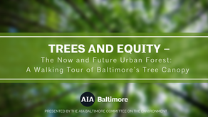 UPCOMING EVENT: Trees & Equity- The Now and Future Urban Forest: A Walking Tour