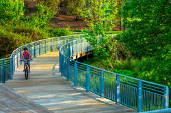 Shelley Rentsch - 5  Germantown Park bike trail with custom railings