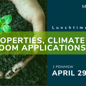Lunchtime Learning: Soil Properties, Climate Change and Bloom Applications