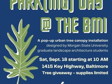Park(ing) Day @ the BMI