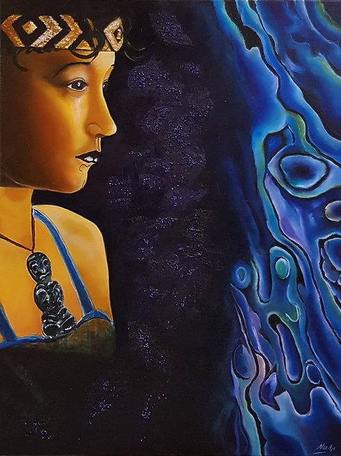 Maori meisje