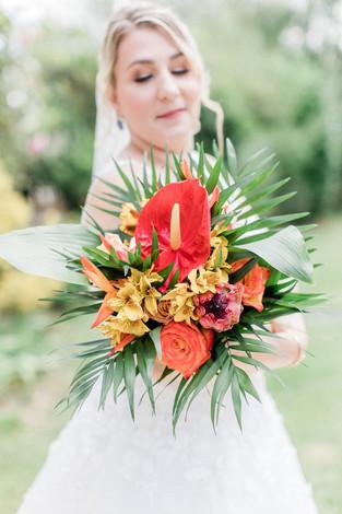 mariage exotique tropical