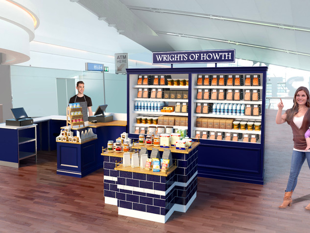 Airport Food Stand