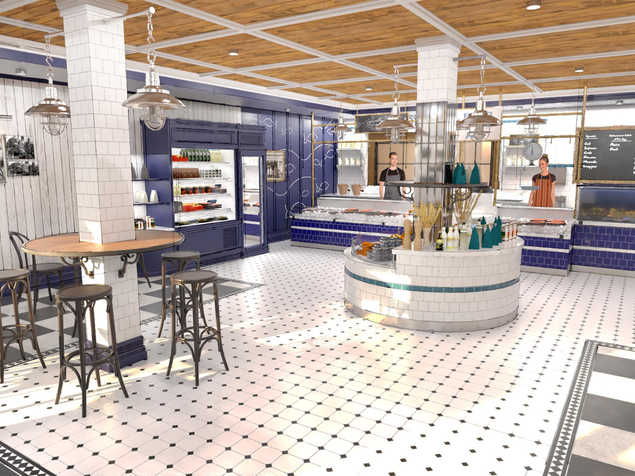 ICONIC FISHMONGER TOTAL RE-DESIGN