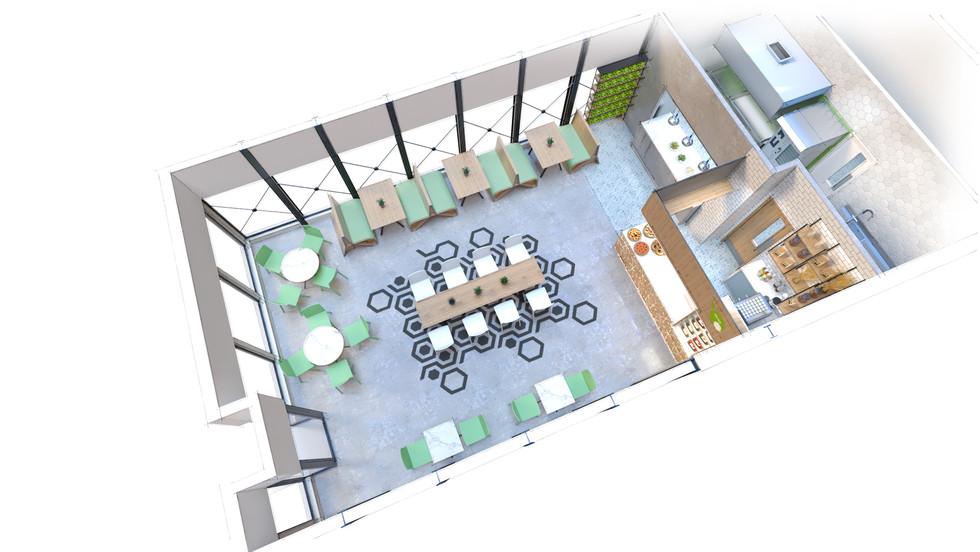 Restaurant Concept - Plan