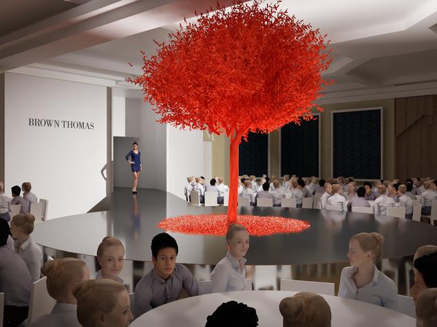 Brown Thomas ISPCC 2018 Event Design