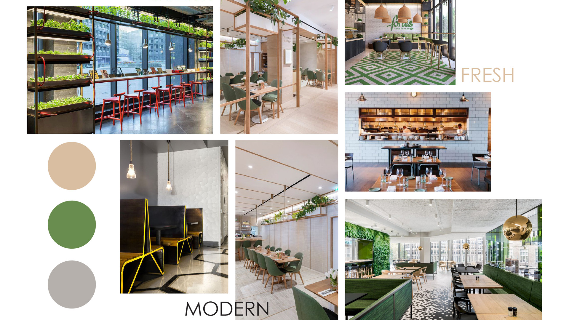 Restaurant Concept - Mood Board