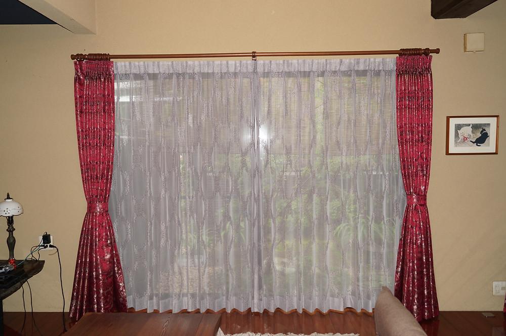 S様邸 LDK 窓まわり納品完了