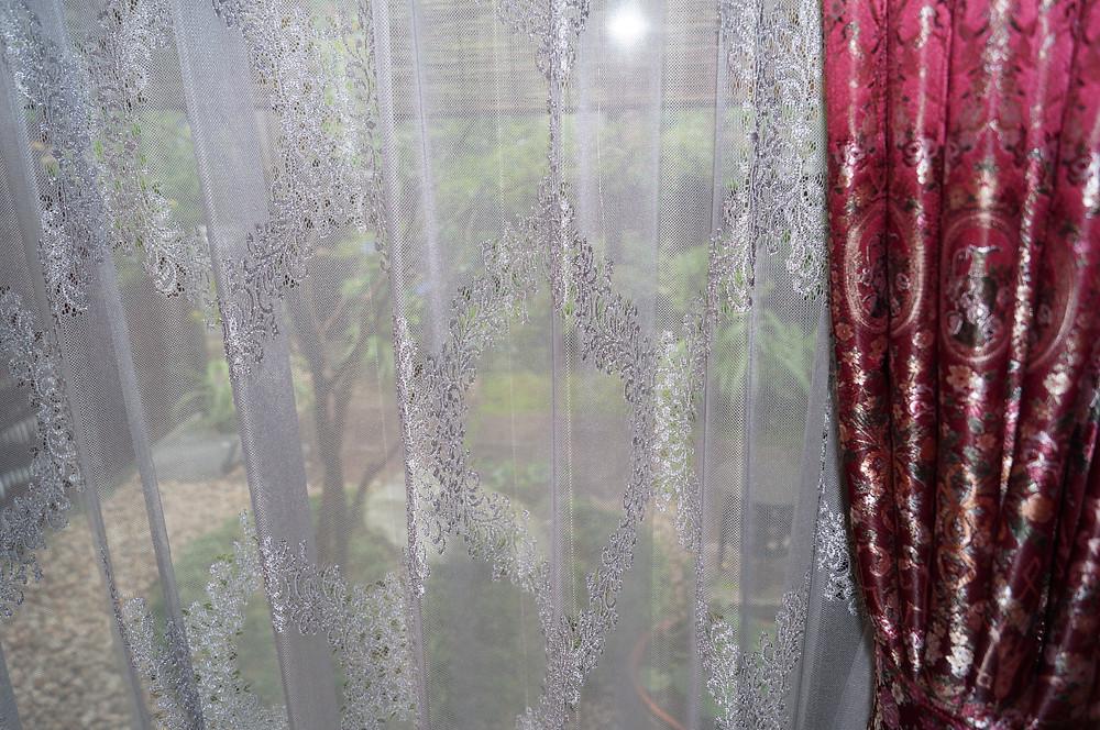 S様邸『 MAISON DE FAMILLE 』レースカーテン