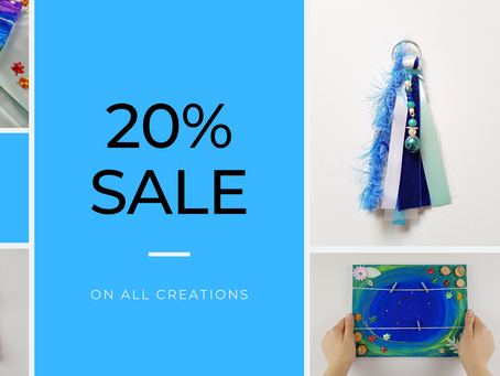 20% Sale now on!