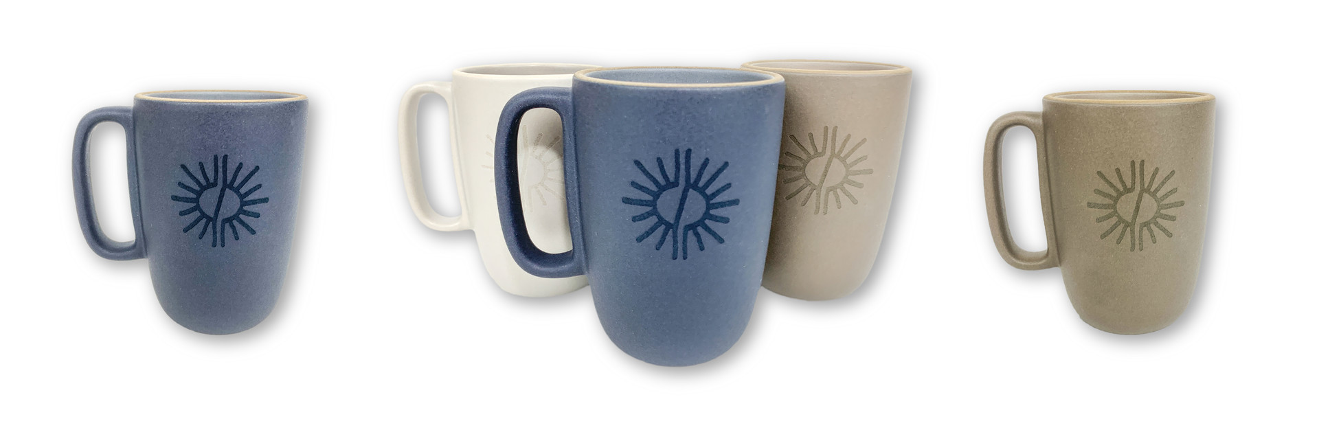 CUSTOM ETCHED CERAMIC COFFEE MUGS