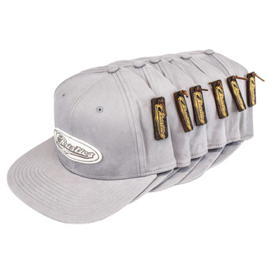 CHRISTIES SPORTS BAR & GRILL   CUSTOM LEATHER PATCH TRUCKER HATS