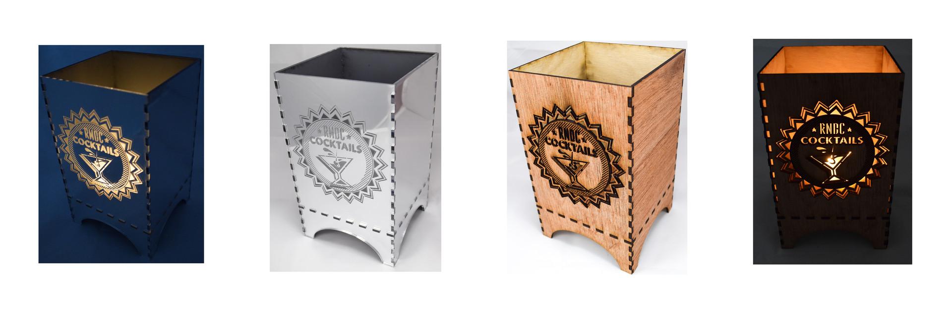 WOOD & ACRYLIC CANDLE BOXES | RNDC