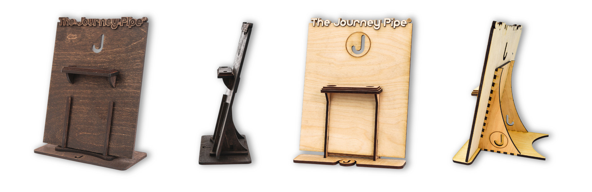 POS WOOD PRODUCT DISPLAYS | THE JOURNEY PIPE