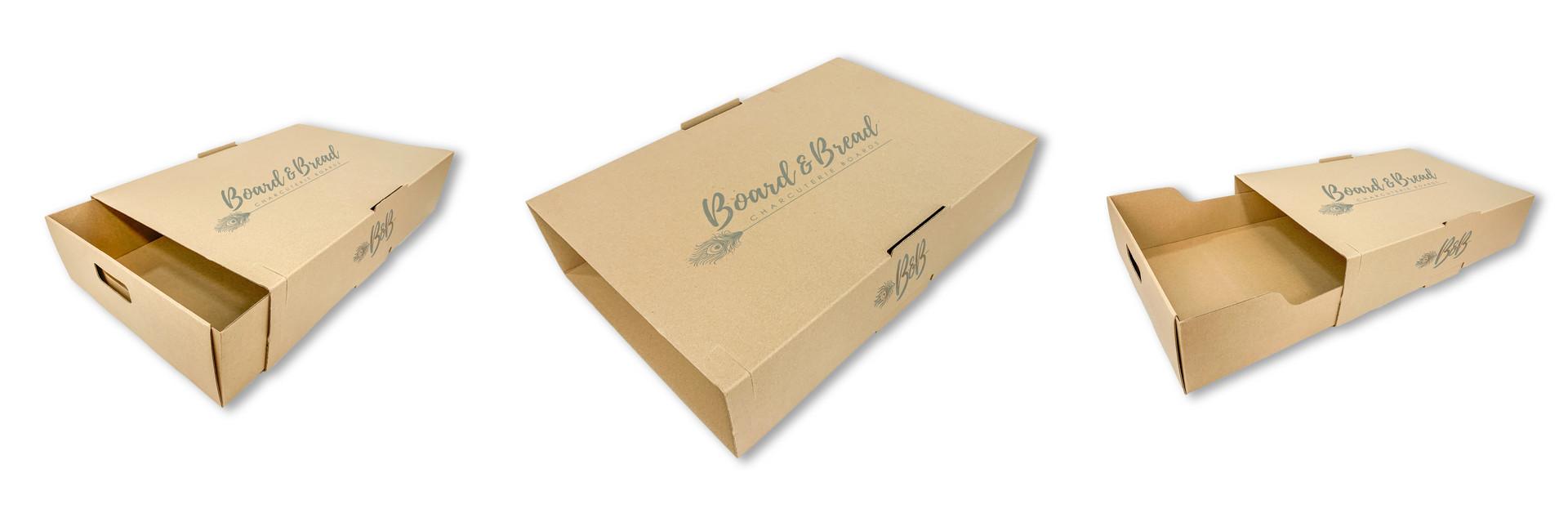 BRANDED CATERING BOX | BOARD & BREAD CHARCUTERIE
