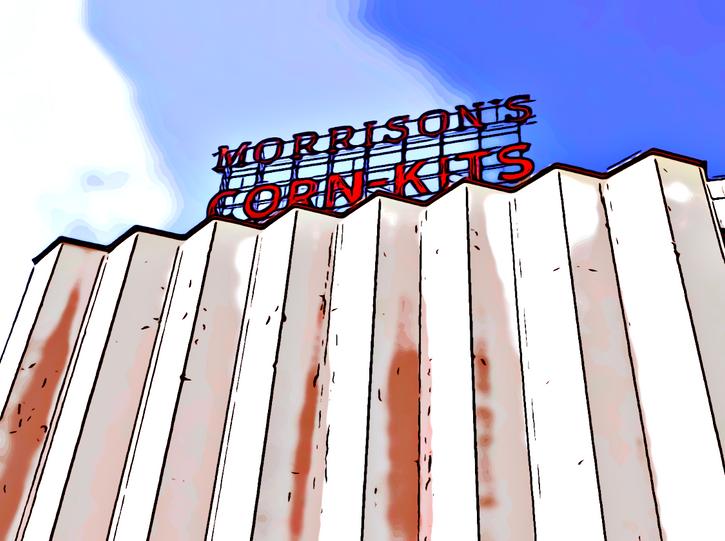 MORRISON'S CORN KITS POSTCARD SERIES