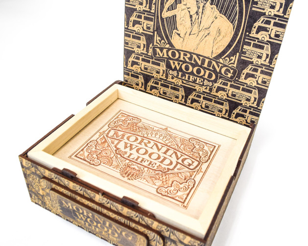 MWL SIGNATURE LARGE BOX WITH ROLLING TRA