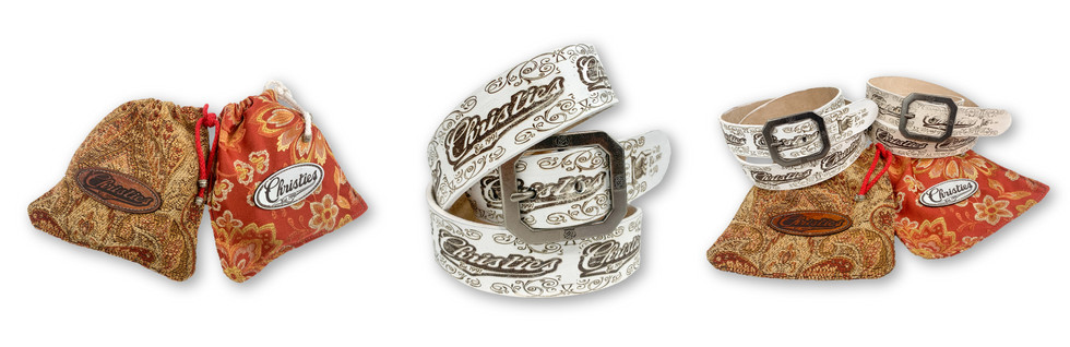 CUSTOM LEATHER BELTS & PACKAGING | CHRISTIES SPORTS & GRILL
