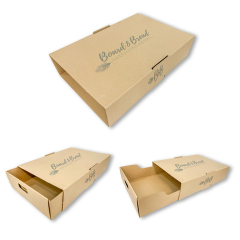 CUSTOM CATERING DELIVERY BOXES