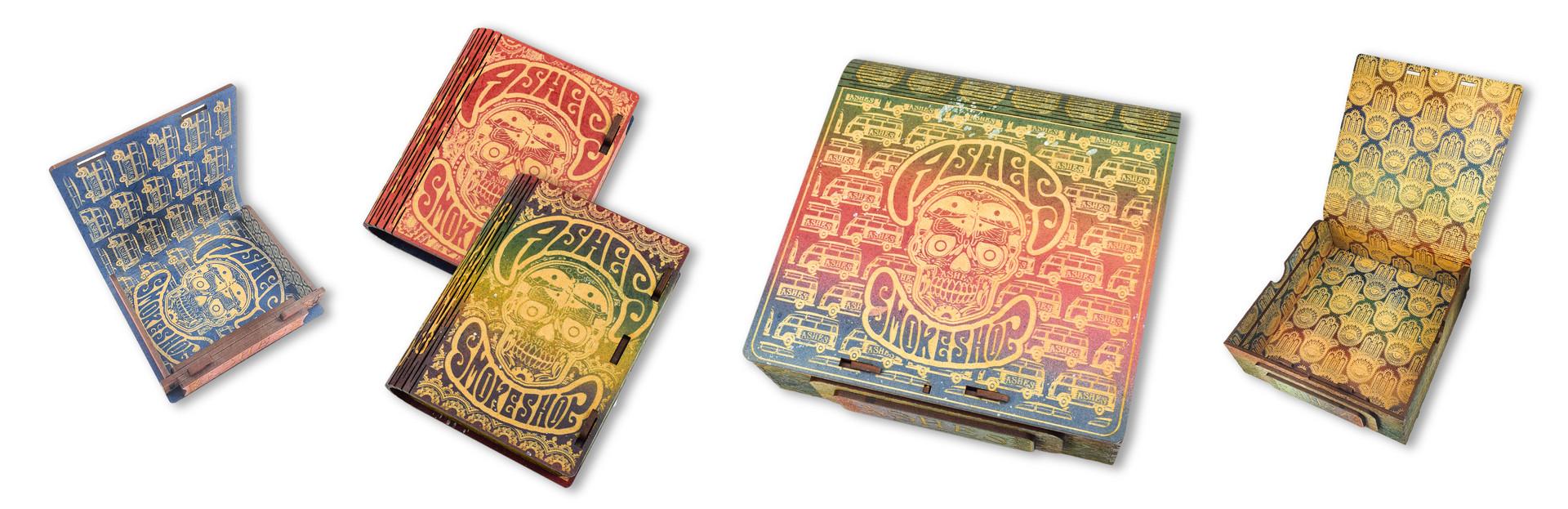 CUSTOM PREMIUM WOOD BOXES | ASHES DENTON