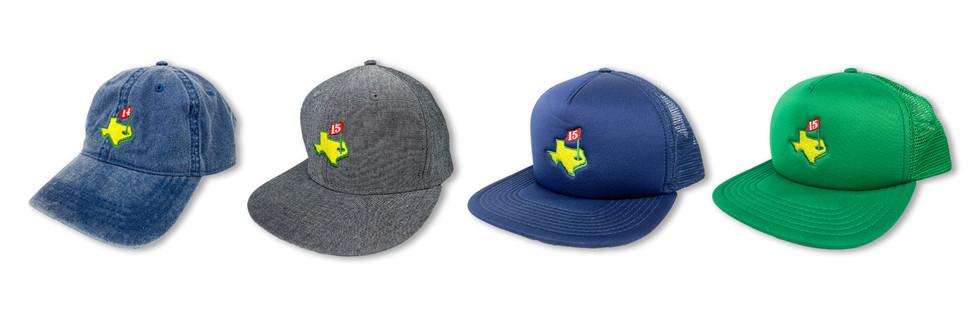 DAGLEY INVITATIONAL EMBROIDERED HATS