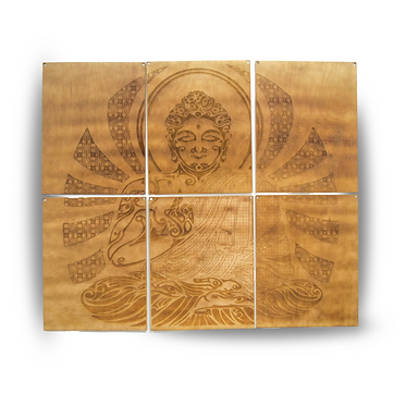 BUDDHA WALL ART DECOR BY TODD BLOOM | TA