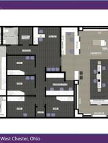 Liberty EyeCare Floor Plan