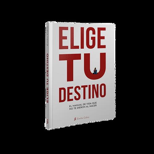 """""""ELIGE"""" TU DESTINO (papel)"""