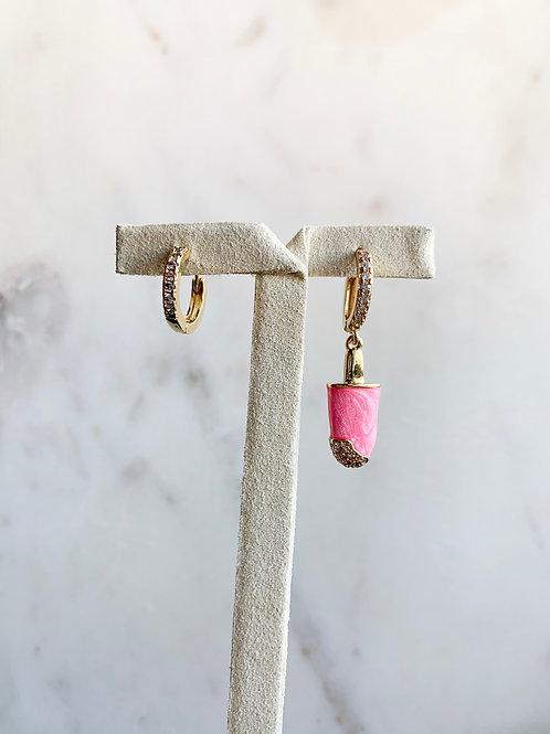 Pink Ice hoop