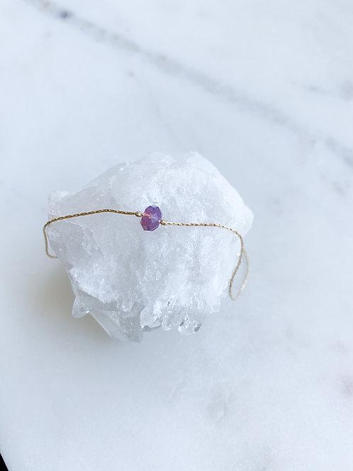 Swarovski bead light purple