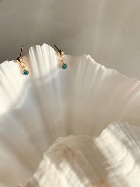 Dainty Stud Turquoise
