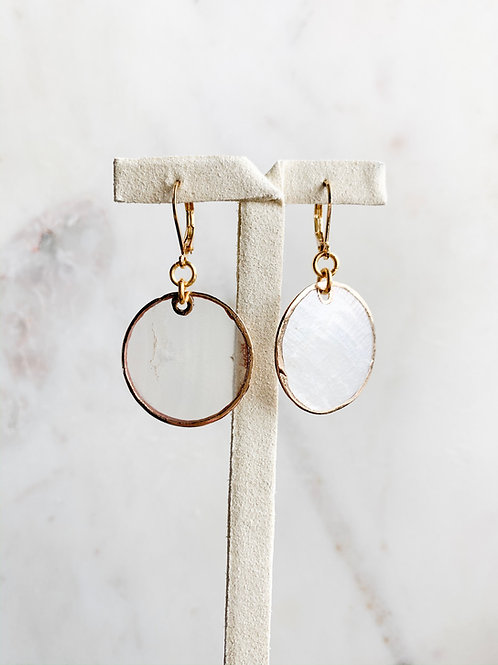 Thin Shell Earring