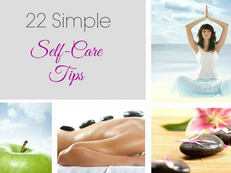 22 Simple Self Care Tips