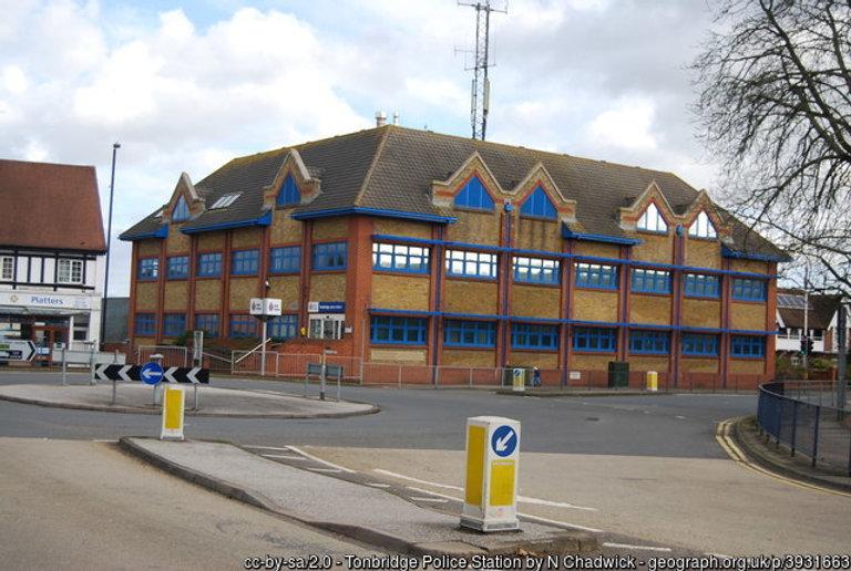 Tonbridge police station - police station agent
