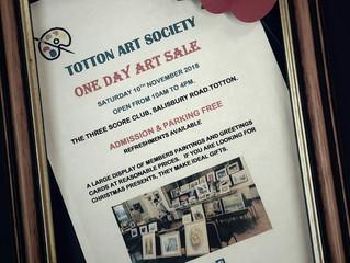 One day art sale & Poppy Appeal