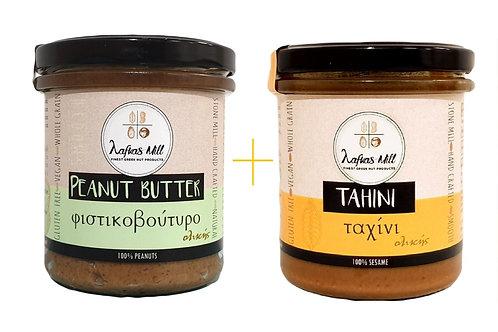 Peanut Butter & Tahini 100% whole grain