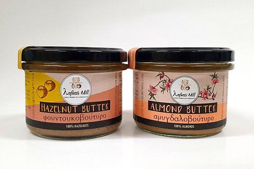 Hazelnut & Almond butters 100%