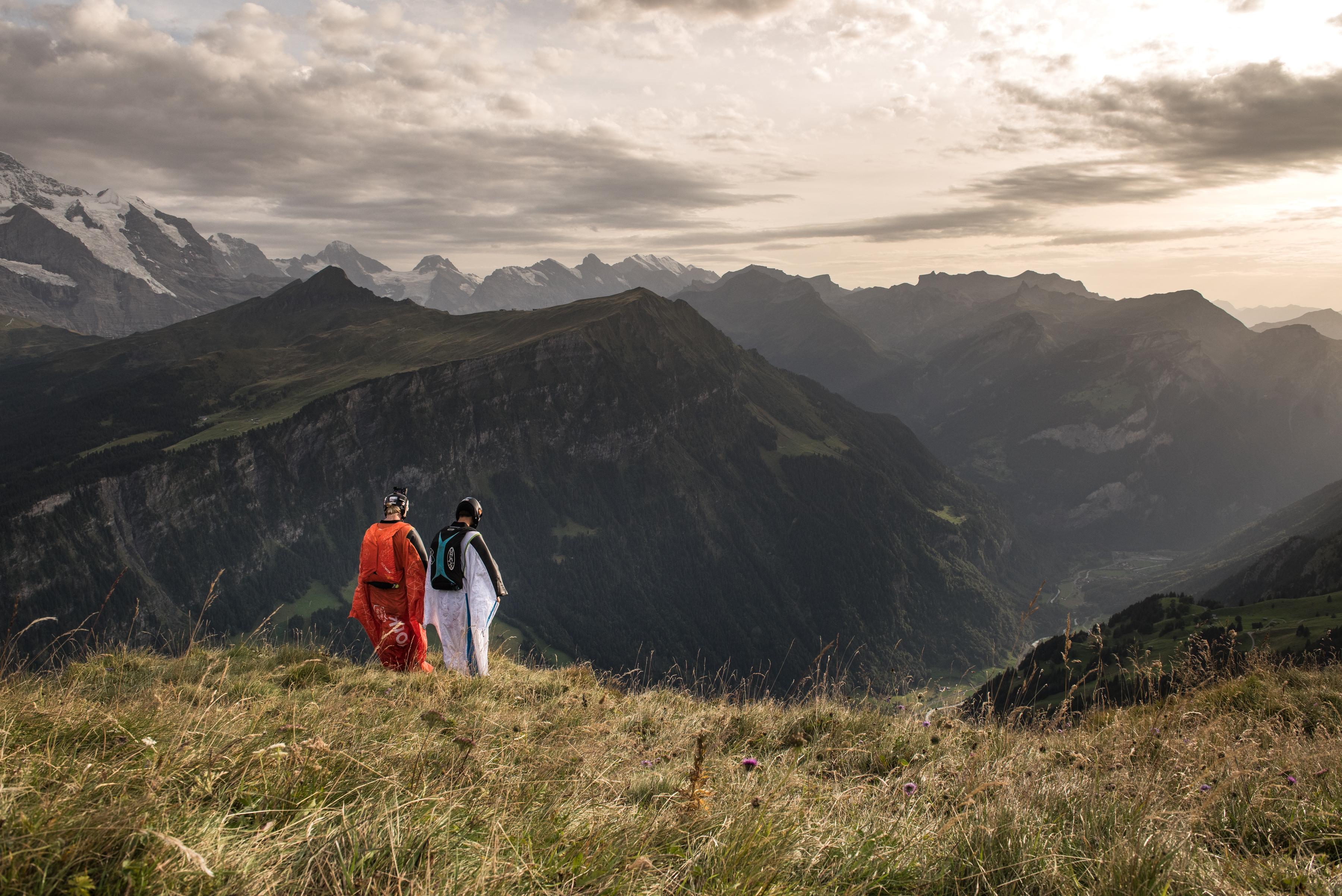 Wingsuit BASE Switzerland
