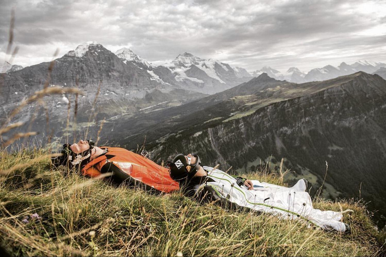 Swiss alps Bussalp
