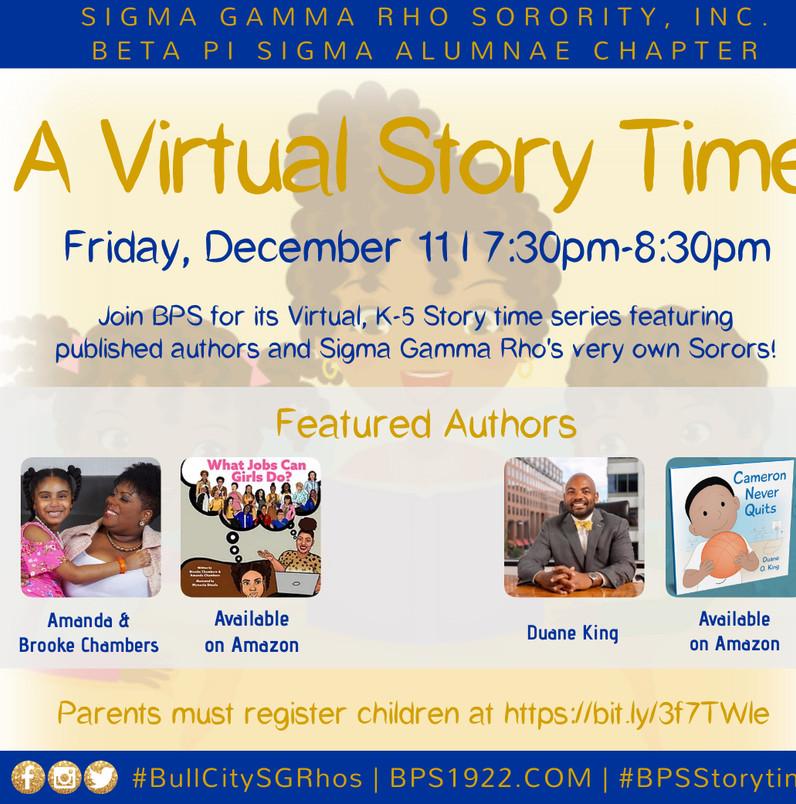 A Virtual Story Time