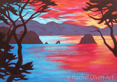 Evening Light Over Waitaia II